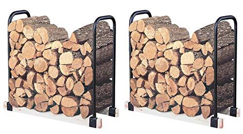 Landmann USA 82424 Adjustable Firewood Rack, Upto 16-Feet Wide (Pack of 2)