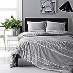 HYPREST-Bohemian-Twin-Duvet-Cover-Set-Lightweight-Soft-Grey-Comforter-Cover-Set-Hotel-Quality-Bedding-Set