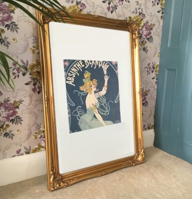 Large Classic Gold Gilt Picture Frame 3ft X 2ft 2 Amazon