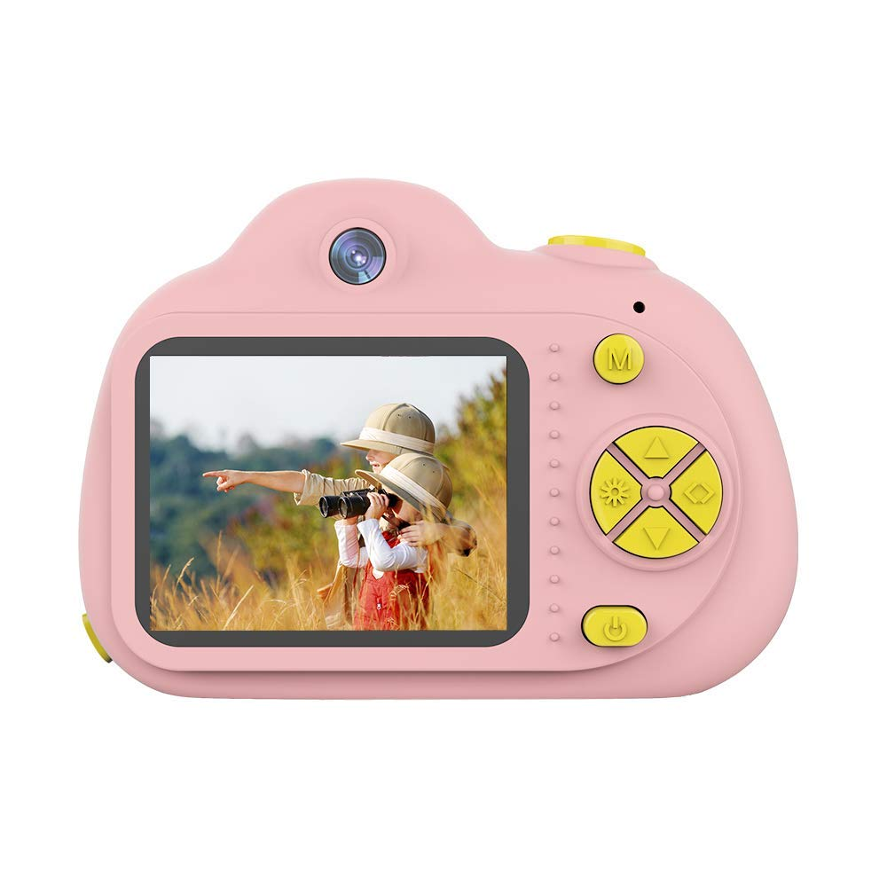 SANVOY Kids Camera - 8MP Photography and 1080 HD Video for Children - 2.0'' LCD Screen, 4X Digital Zoom with Selfie Function in Blue or Pink - Small Camera for Easy Transport by SANVOY (Image #6)