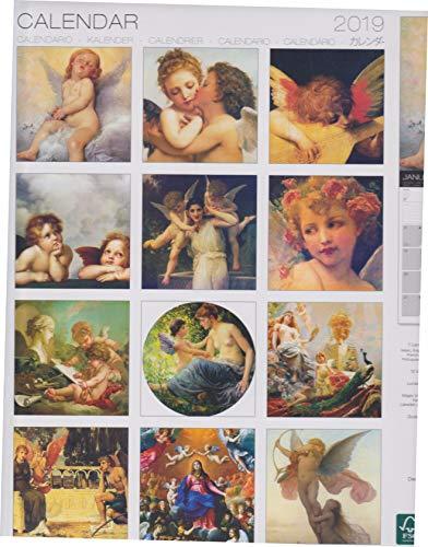 2019 Angels Classic Art Wall Calendar