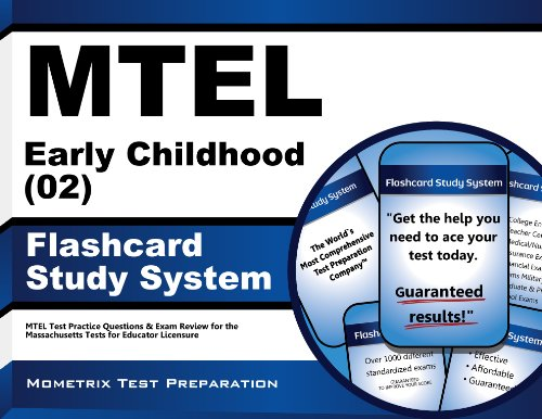 MTEL Early Childhood (02) Flashcard Study System: MTEL Test Practice Questions & Exam Review for the Massachusetts Tests…