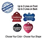 Pet ID Tags FREE Shipping! Ships within 24-48 hours! Dog Cat Aluminum, My Pet Supplies