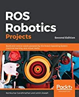 ROS Robotics Projects, 2nd Edition Front Cover