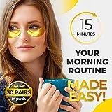 Under Eye Collagen Patches - 24K Gold Eye Mask