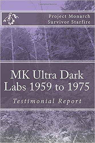 MK Ultra Dark Labs: Starfire: 9781979898249: Amazon com: Books