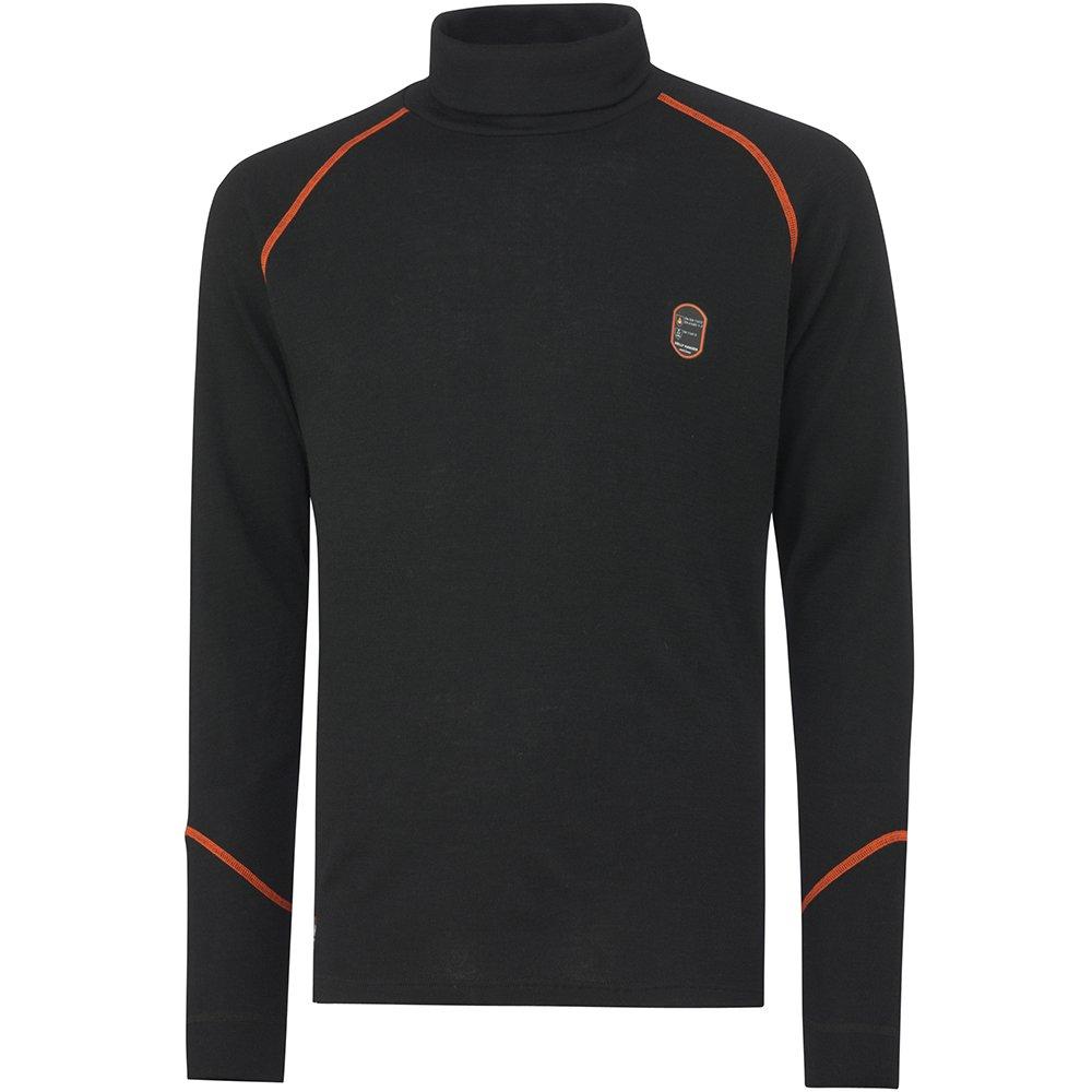 Helly Hansen Workwear Multinorm Shirt Fakse Ls Crewneck Langarmshirt, 3XL, schwarz, 75076