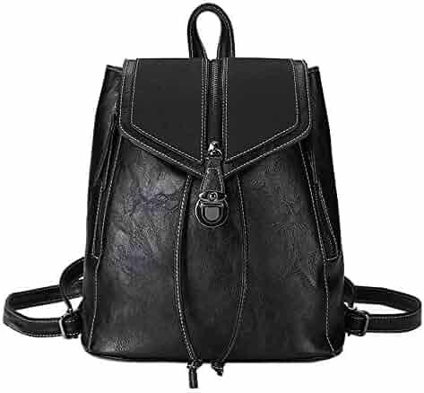 e7abec10a Clearance ❤ Women Bag JJLIKER Fashion Retro Soft Leather Small Packet  Backpack
