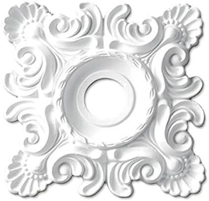 シャンデリア装飾メダリオン ゴールデンモール ポリウレタン製 NMG203
