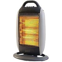 FAVY LAURELS Room HALOGEN HEATER with 3 Heating Element & Settings | 220-230v 50/60hz 1200w ||K-001