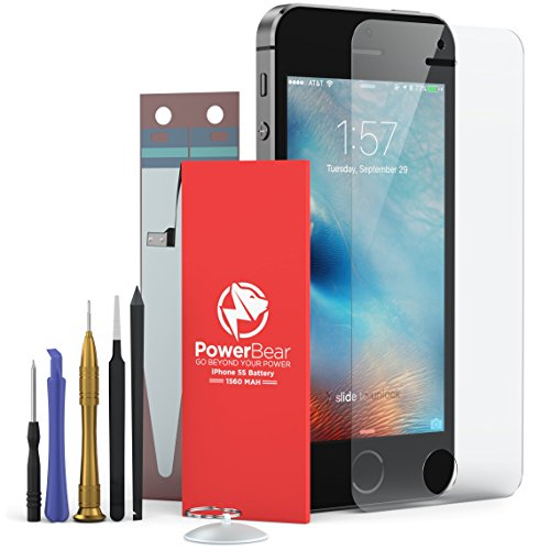 iphone 5s battery replacement kit powerbear iphone 5s 5c battery not for 5 1560mah 17453