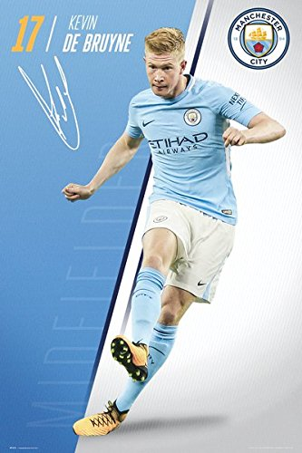 Amazoncom Manchester City Soccer Poster Print Kevin