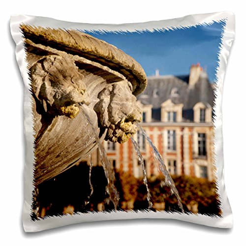 Danita Delimont - Paris - Place des Vosges, les Marais, Paris, France - EU09 BJN0567 - Brian Jannsen - 16x16 inch Pillow Case (pc_136288_1)