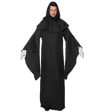 Amyline Disfraz De Bruja para Adulto,Mujer Hombre Halloween ...