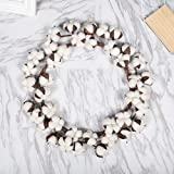 trending tree wall decals Gotian Handmade Simulation Cotton Spring Wreath Garland Dried Flower Artificial Wreath Artificial Flower for Bedroom Wall Decor for House Wedding Party Decoration