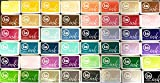 Impression Obsession IO - Complete Set of 48 Colors - Hybrid Ink Pads - INKP001 Through INKP048 (Bundle 48 Items)