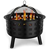 Regal Flame Ouray Backyard Garden Home Light Wood Fire Pit. Perfect for RV, Camping, and Outdoor Fireplace. All you need is Firewood. Works as Patio Heater, Stove or Firebowl without Propane Gas