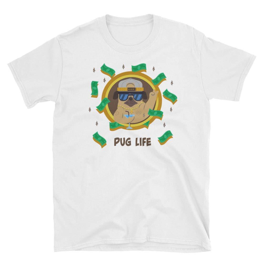 AmaRayeFashion Pug Life Short-Sleeve Unisex T-Shirt