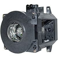 AuraBeam NEC NP21LP Projector Replacement Lamp with Housing