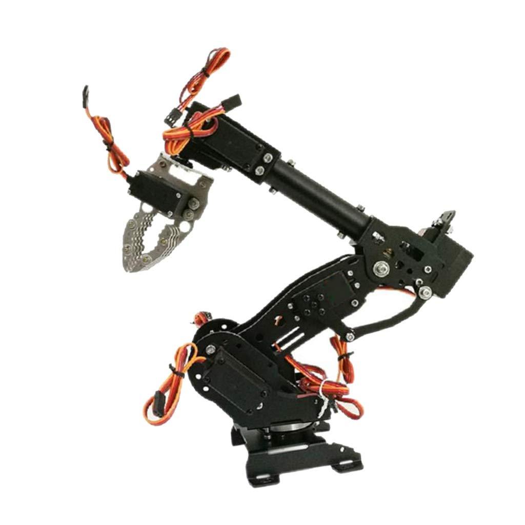Con 100% de calidad y servicio de% 100. C perfeclan Control de WiFi 8-DOF Robot Arm Claw Kit Kit Kit Mejorado DT-3316 Servo Arduino Negro - C  a la venta