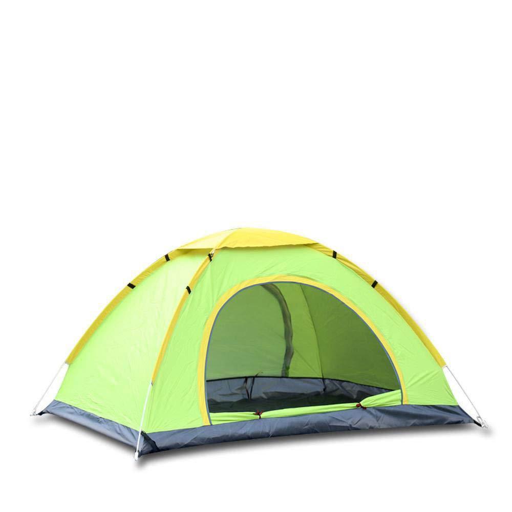 Lxj Outdoor-Zelt schnell offene Zelt Outdoor 3 Personen 4 Personen automatisch Doppelte Camping Zelten Campen Doppelte Tür Zelt 200  200  h130cm