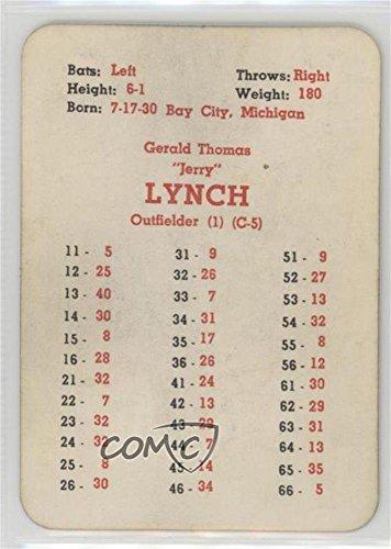 Amazoncom Jerry Lynch Baseball Card 1958 Apba Baseball 1957