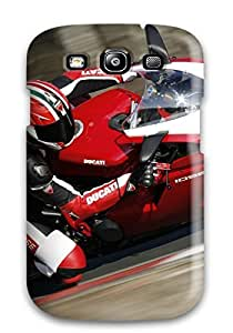 Charles C Lee Perfect Tpu Case For Galaxy S3/ Anti-scratch Protector Case (ducati)