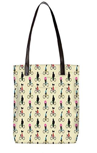Snoogg Strandtasche, mehrfarbig (mehrfarbig) - LTR-BL-3193-ToteBag