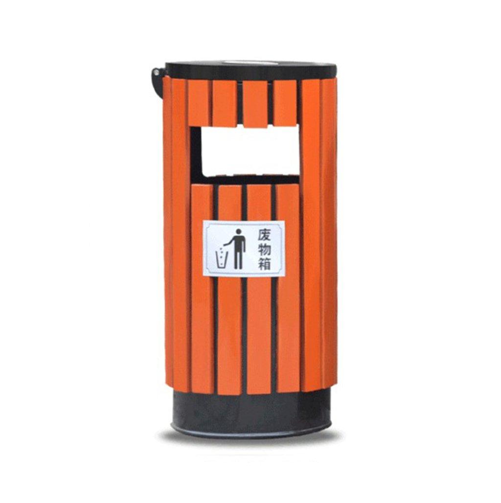 TGG 屋外用ゴミ箱、ゴミ箱、庭園、風景区域衛生学校屋外公園コミュニティレザーボックス38 * 82CM 清潔できちんと (色 : A) B07DKC1Q2V 18399  A
