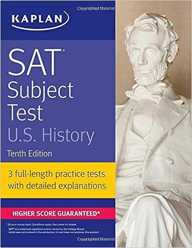 SAT Subject Test U.S. History (Kaplan Test Prep)