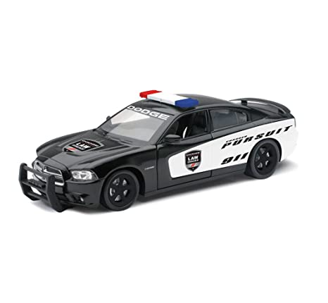 Dodge Charger Pursuit Diecast Police Car 1/24 Scale
