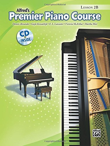 Premier Piano Course Lesson Book, Bk 2B: Book & CD