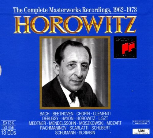 Horowitz: Complete Masterworks Recordings, 1962-1973 by Sony Classical