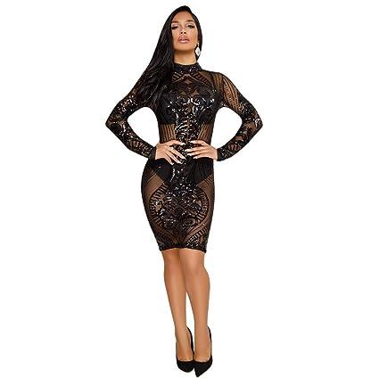 designer fashion 81fb6 8d435 Abito da cerimonia per donna Vestito da paillettes ...