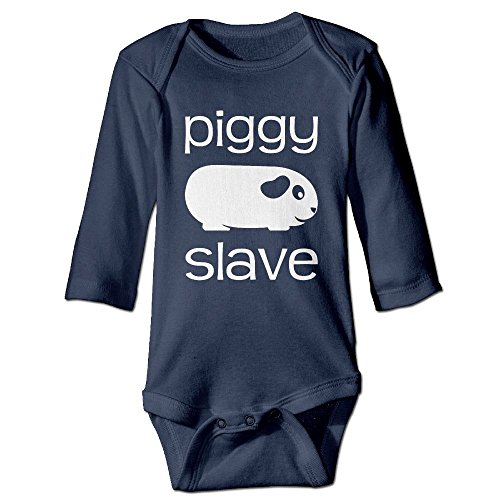 Fillmore Piggy Slave Long Sleeve Romper Playsuit For 6-24 Months Infant 18 Months Navy