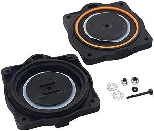 Ohoho Hp-80 Rebuild Repair Kit for Hiblow Diaphragms Only Air Pump Diaphragm (black)
