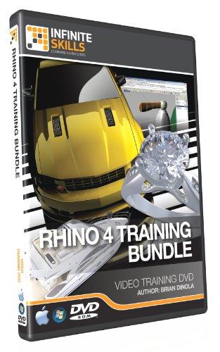 Discounted Bundle - Rhino 4 Tutorial DVD - Over 17 hours of Training by Infiniteskills