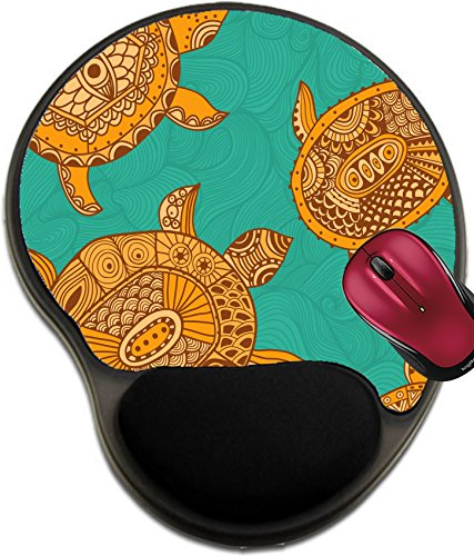 Liili Mousepad wrist protected Mouse Pads/Mat with wrist support design ID: 25302097 Seamless pattern with turtles Seamless pattern can be for wallpaper pattern fills web page - Frame Webpage