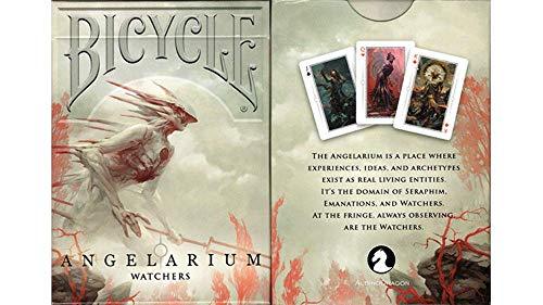 Albino Dragon Angelarium - Watchers Playing Cards