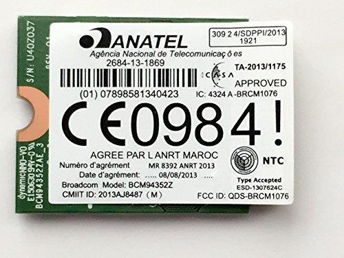 Broadcom BCM94352Z DW1560 802.11a/b/g/n/ac WLAN + Bluetooth 4.0 M.2 NGFF Mini Card 867Mbps by Huasijie