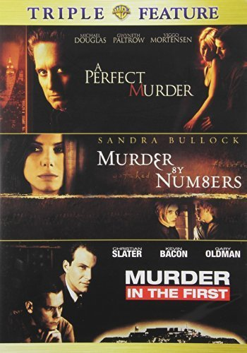 A Perfect Murder / Murder by Numbers / Murder in the First by Warner Home Video