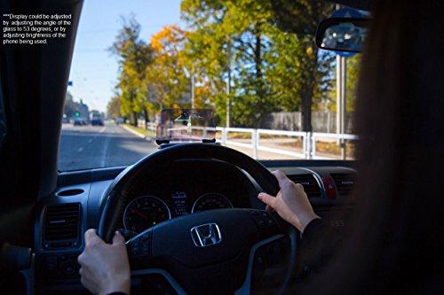 HUDWAY Glass — Head Up Display (HUD) Car GPS Navigation Projector Driving Gadget Accessories [tag]