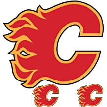 NHL Calgary Flames Wallmarx Hockey Wall Accent Set
