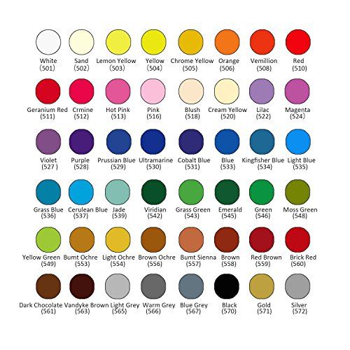 Huhuhero Marco Raffine 48 Color Pencil Set Premium Art