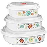 Corelle Coordinates Happy Days 6-Piece Microwave Cookware and Storage Set
