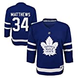 Auston Matthews Toronto Maple Leafs NHL Toddler Blue Player Jersey (One Size 2T-4T)