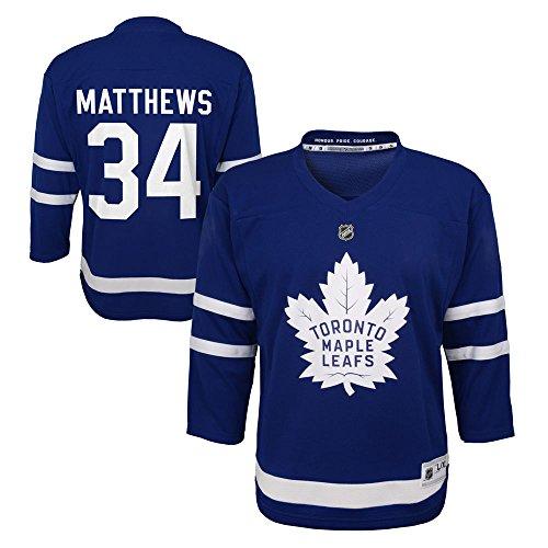 Auston Matthews Toronto Maple Leafs NHL Kids 4-7 Blue Player Jersey (One Size Size 4-7)