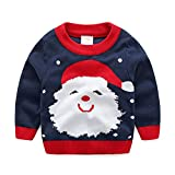Product review for Baby Boy Girl Sweaters Cotton Toddler Infant Knit Christmas Sweaters