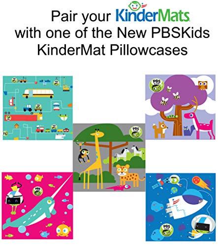 KinderMat KM-150 Children's Rest Mat, Red/Blue