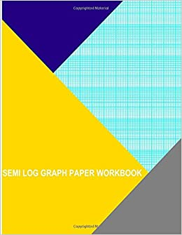 Semilog Graph Paper | Semi Log Graph Paper Workbook 70 Divisions 5thn 10th Accent By 7